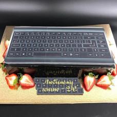 Торт с клавиатурой
