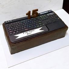 Торт игровая клавиатура