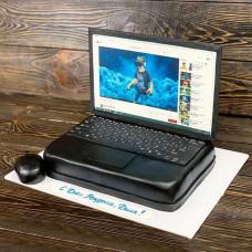 Торт ноутбук на день рождения