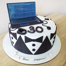 Торт ноутбук айтишнику