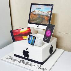 Торт iMac, iPhone, Apple Watch