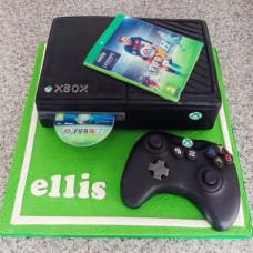 Торт приставка xBox