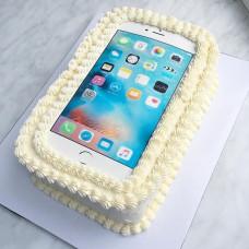 Торт телефон кремовый