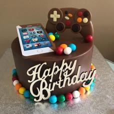 Торт смартфон для мальчика