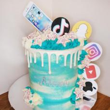 Торт телефон на день рождения