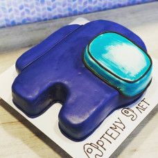 3D торт Among Us