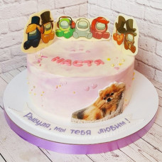 Кремовый торт Амонг Ас