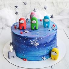 Торт в стиле Амонг Ас