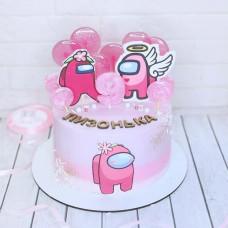 Амонг ас торт на день рождения девочке