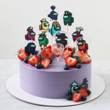 Детский торт с Амонг Ас
