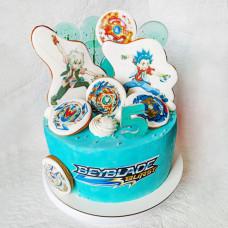 Торт по игре Бейблэйд