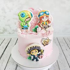 Торт Браво Старс для девочки