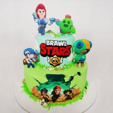 Brawl Stars торт для мальчиков