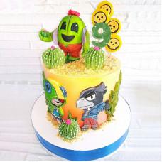 Торт Браво Старс на день рождения