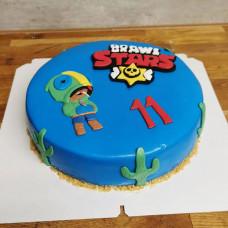 Торт по игре Brawl Stars