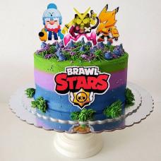 Торт в стиле Браво Старс