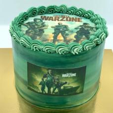Торт приставка PS4 с Call of Duty
