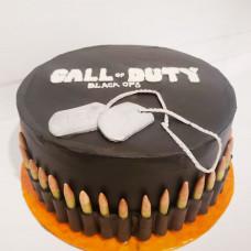 Торт в стиле игры Call of Duty