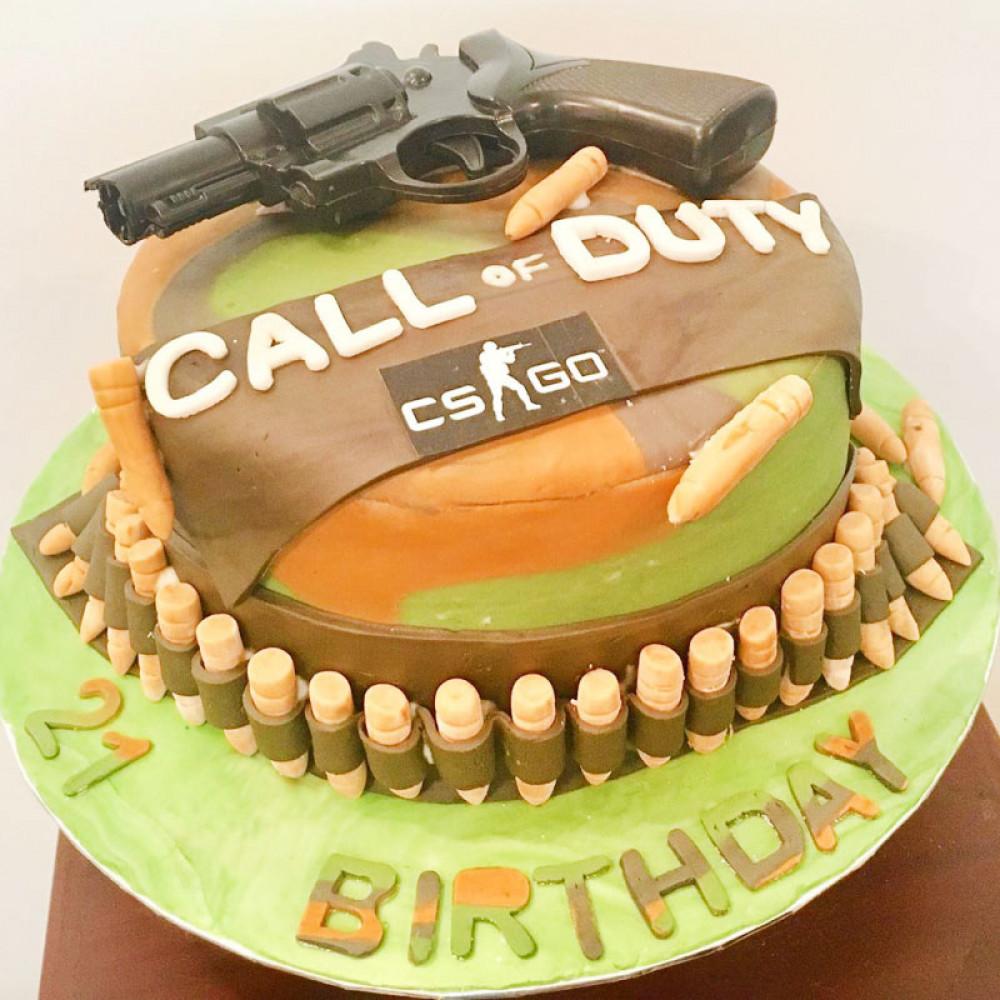 Торт Call of Duty и CS GO
