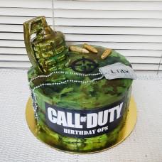 Торт Call of Duty для мальчика