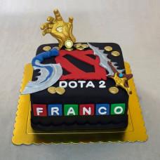 Торт Дота 2 на день рождения