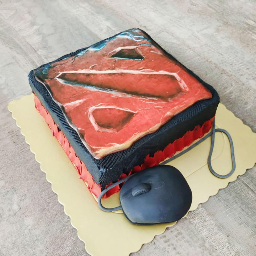 Торт геймеру по игре Дота 2