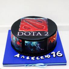 Торт в стиле Dota 2