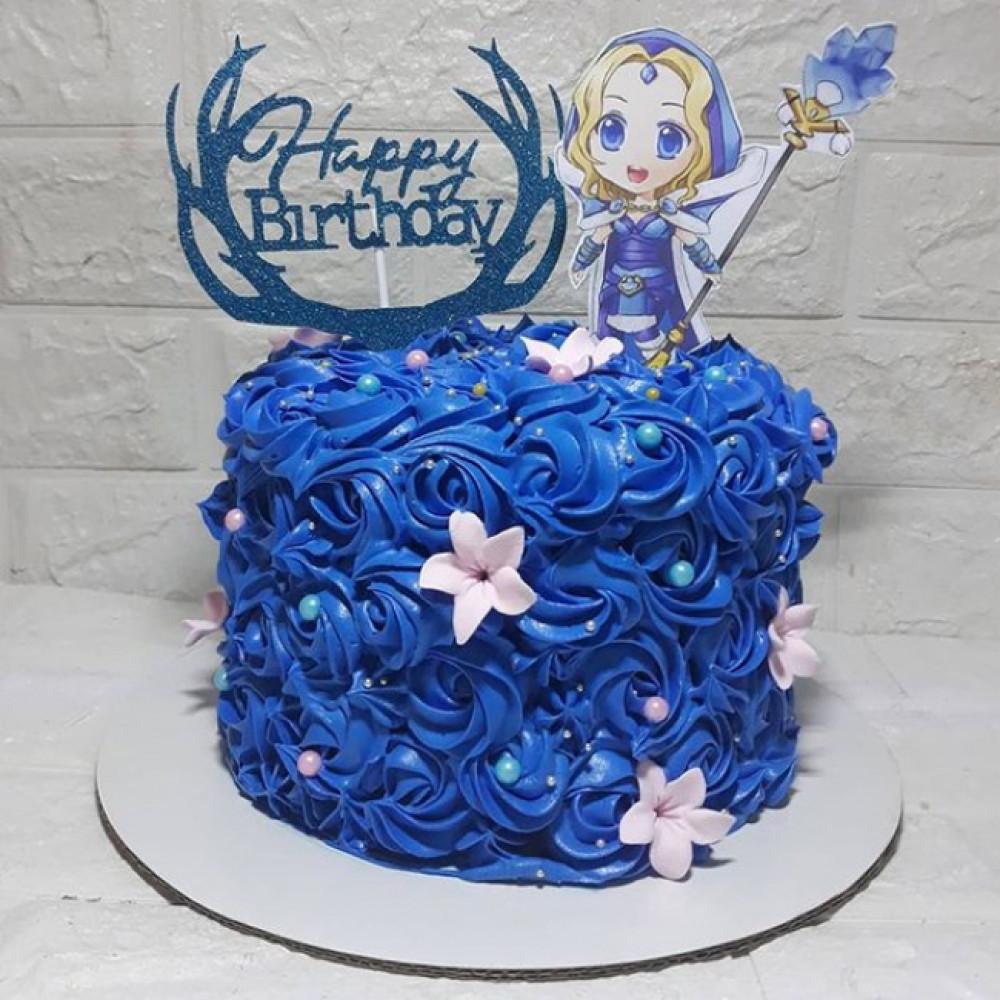 Торт Dota 2 для девочки