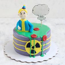 Торт сыну по игре Фоллаут