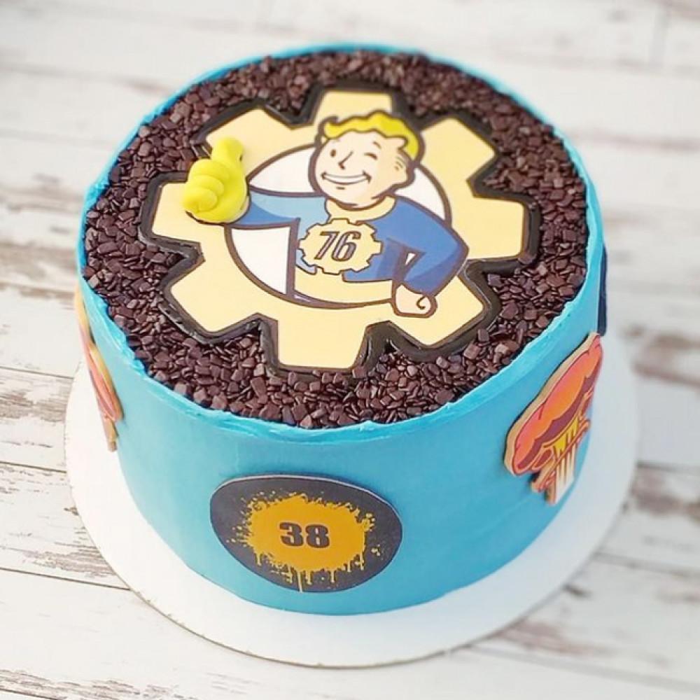Торт Фоллаут для геймера