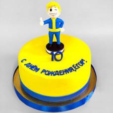 Торт Фоллаут для мальчика