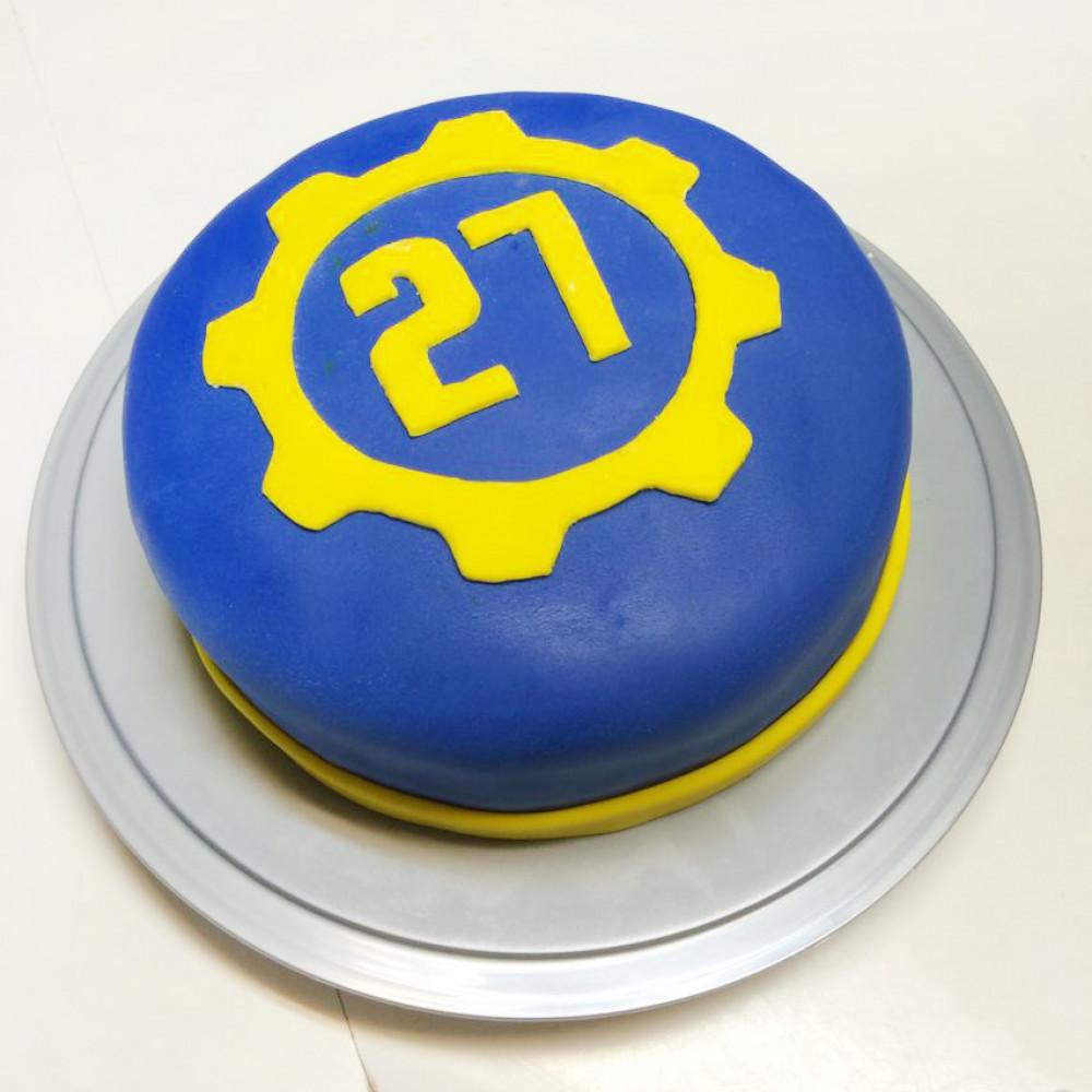Торт Фоллаут на день рождения