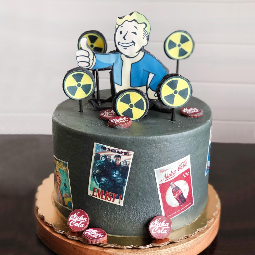 Торт fallout 4