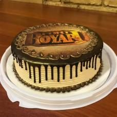 Торт Форт Боярд без мастики