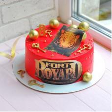 Торт на 8 лет Форт Боярд