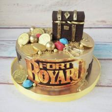 Торт в стиле Форт-Боярд