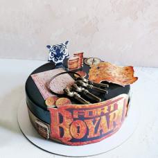 Торт в стиле Форт Боярд для девочки