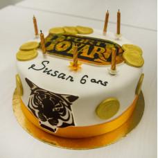 Торт Форт Боярд на день рождения