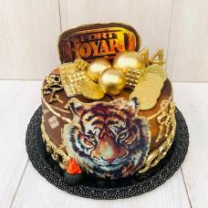 Торт с тигром из Форта Буаяр