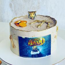 Торт с оформлением Форт Боярд
