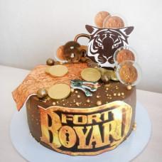 Торт Форт Боярд для мальчика