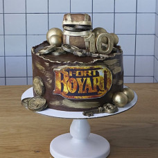 Торт Форт Боярд для мальчика 10 лет
