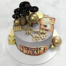 Торт с ключами от форта Боярд
