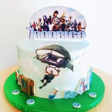 Торт в стиле Фортнайт
