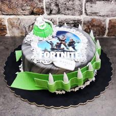 Торт в виде игры Fortnite