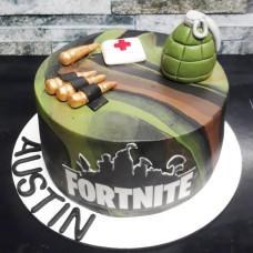 Торт для мальчика Фортнайт