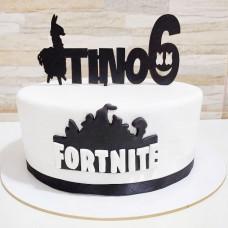 Праздничный торт Фортнайт