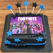 Торт Fortnite на 6 лет