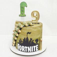 Торт Fortnite на 9 лет