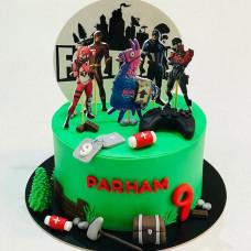 Торт Фортнайт на 8 лет